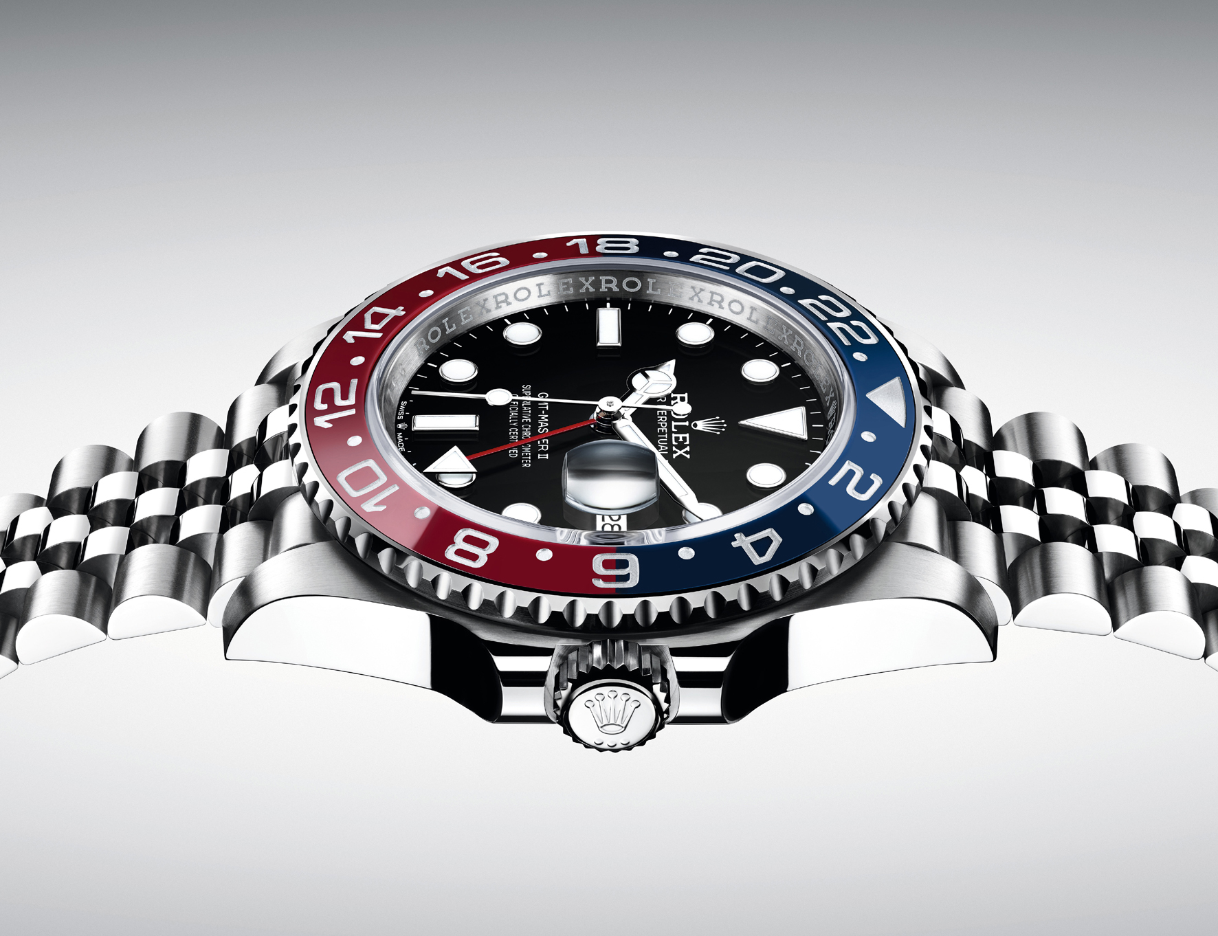Rolex GMTMaster orizzonale